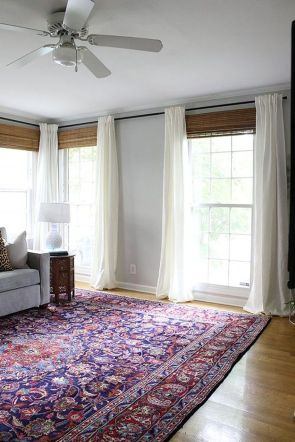 Beauty and Elegant White Curtain for Bedroom and Living Room 3