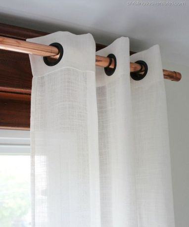 Beauty and Elegant White Curtain for Bedroom and Living Room 33