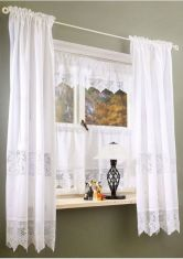 Beauty and Elegant White Curtain for Bedroom and Living Room 39