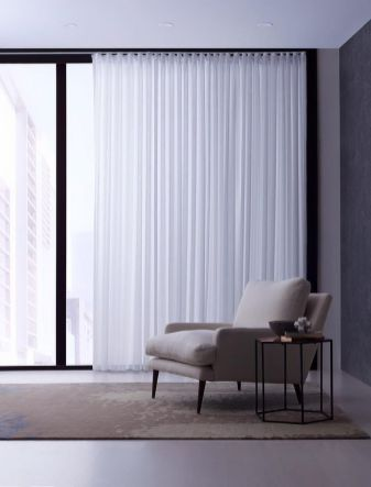 Beauty and Elegant White Curtain for Bedroom and Living Room 4