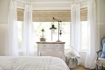 Beauty and Elegant White Curtain for Bedroom and Living Room 43