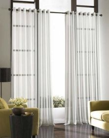 Beauty and Elegant White Curtain for Bedroom and Living Room 49