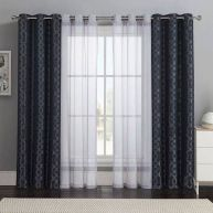 Beauty and Elegant White Curtain for Bedroom and Living Room 52