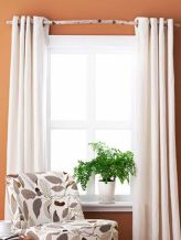 Beauty and Elegant White Curtain for Bedroom and Living Room 57