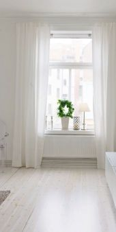 Beauty and Elegant White Curtain for Bedroom and Living Room 62