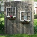 Cool Privacy Fence Wooden Design for Backyard 11