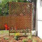 Cool Privacy Fence Wooden Design for Backyard 19