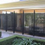 Cool Privacy Fence Wooden Design for Backyard 55