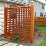 Cool Privacy Fence Wooden Design for Backyard 69