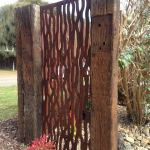 Cool Privacy Fence Wooden Design for Backyard 72