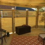 Cool Privacy Fence Wooden Design for Backyard 74