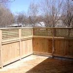 Cool Privacy Fence Wooden Design for Backyard 76