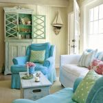 Cozy and Colorful Pastel Living Room Interior Style 16