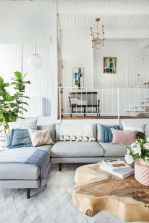 Cozy and Colorful Pastel Living Room Interior Style 20