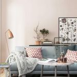 Cozy and Colorful Pastel Living Room Interior Style 3