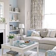 Cozy and Colorful Pastel Living Room Interior Style 33