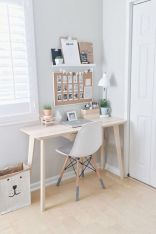 Inspiring Simple Work Desk Decorations and Setup 11
