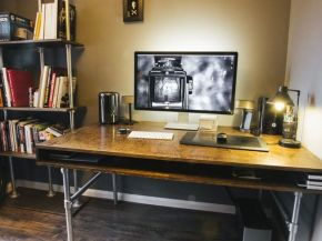 Inspiring Simple Work Desk Decorations and Setup 60
