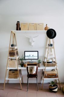 Inspiring Simple Work Desk Decorations and Setup 80
