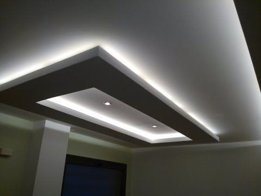 Modern Contemporary Led Strip Ceiling Light Design 2
