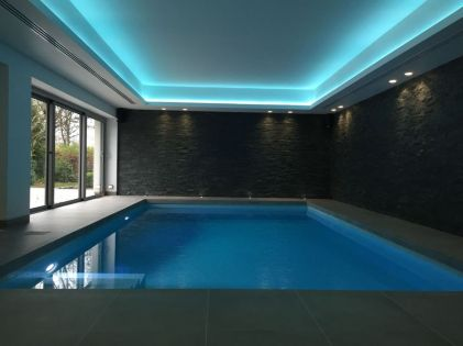 Modern Contemporary Led Strip Ceiling Light Design 9