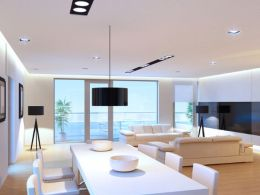 Modern Contemporary Led Strip Ceiling Light Design