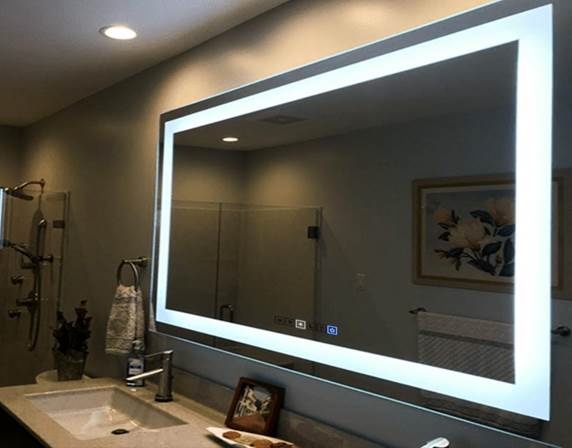 LED Mirrors Come in All Shapes and Sizes