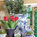 Spring Home Table Decorations Center Pieces 10