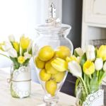 Spring Home Table Decorations Center Pieces 55