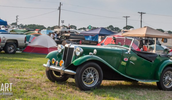 MG TD spotted at 12 Hours of Sebring 2015