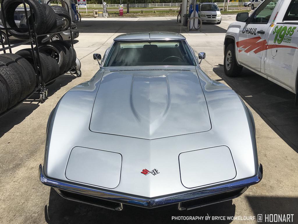 C3 Corvette front view