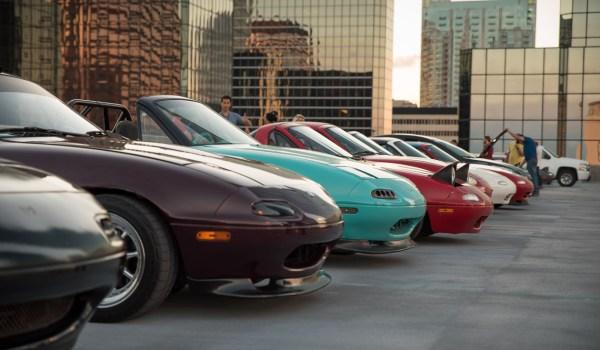 Mazda Miatas