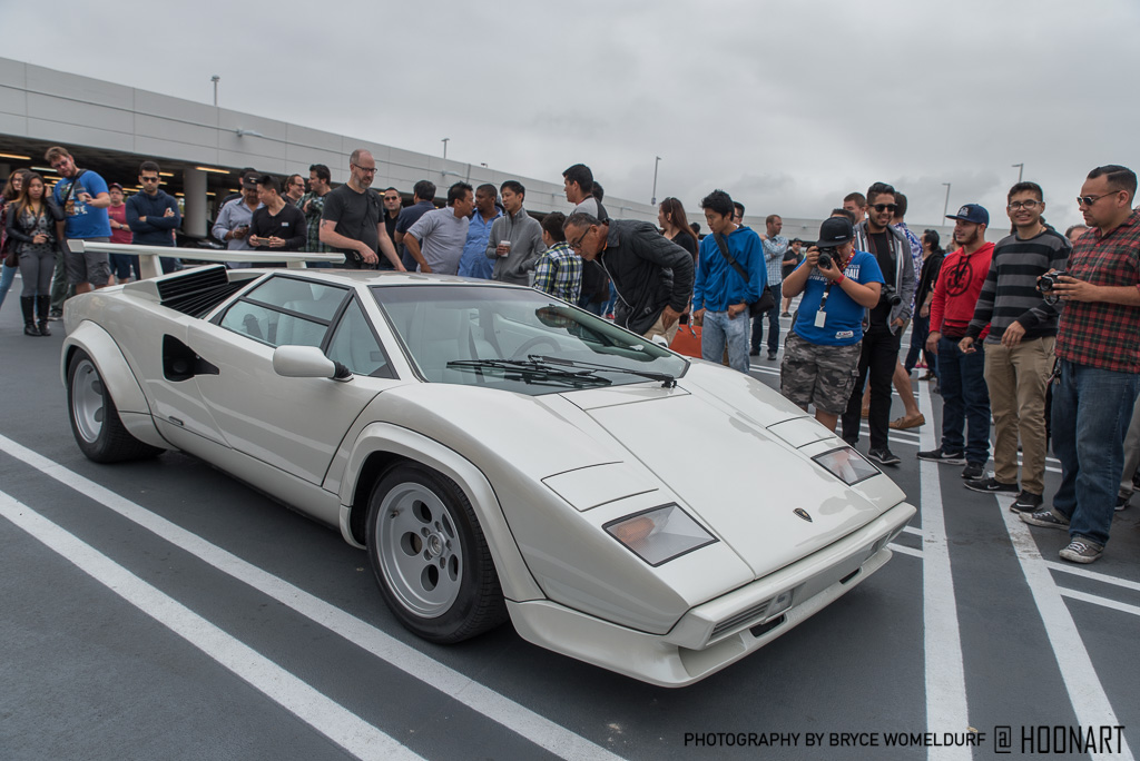 James Chen's Lamborghini Countach