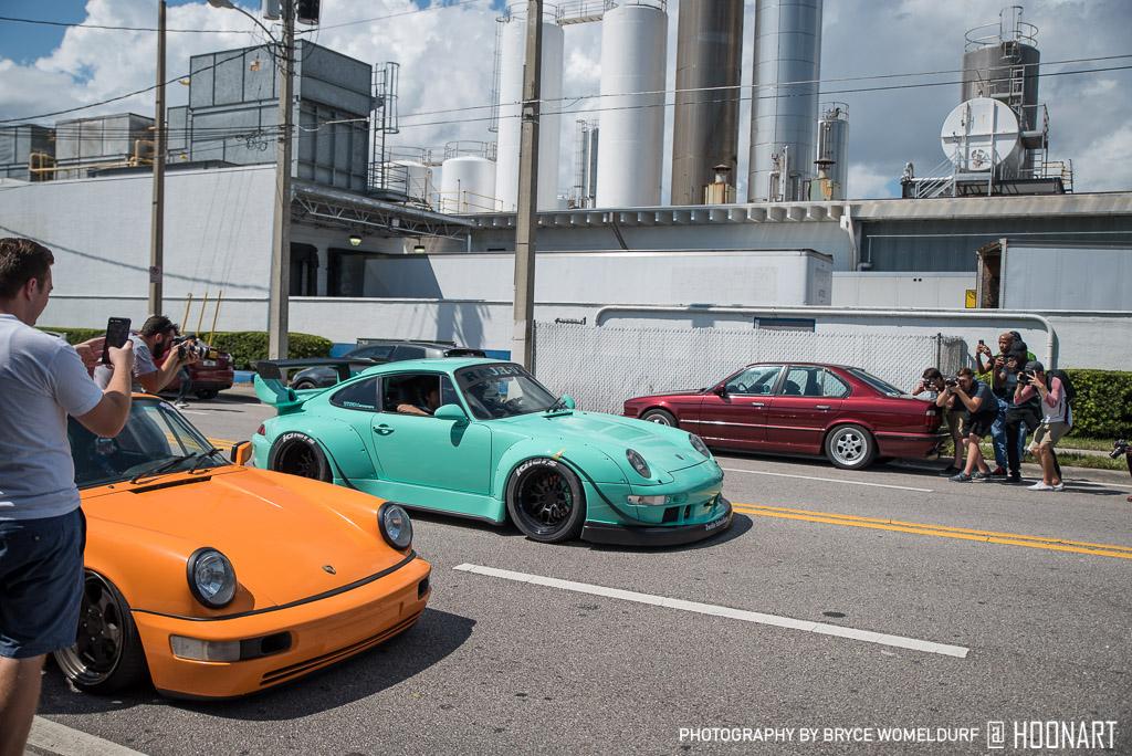 Kei Kishi 993 RWB Porsche