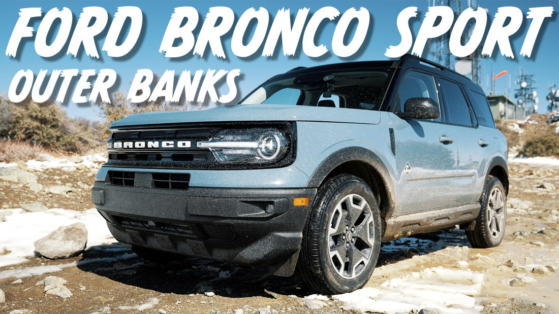 Ford Bronco Sport off road