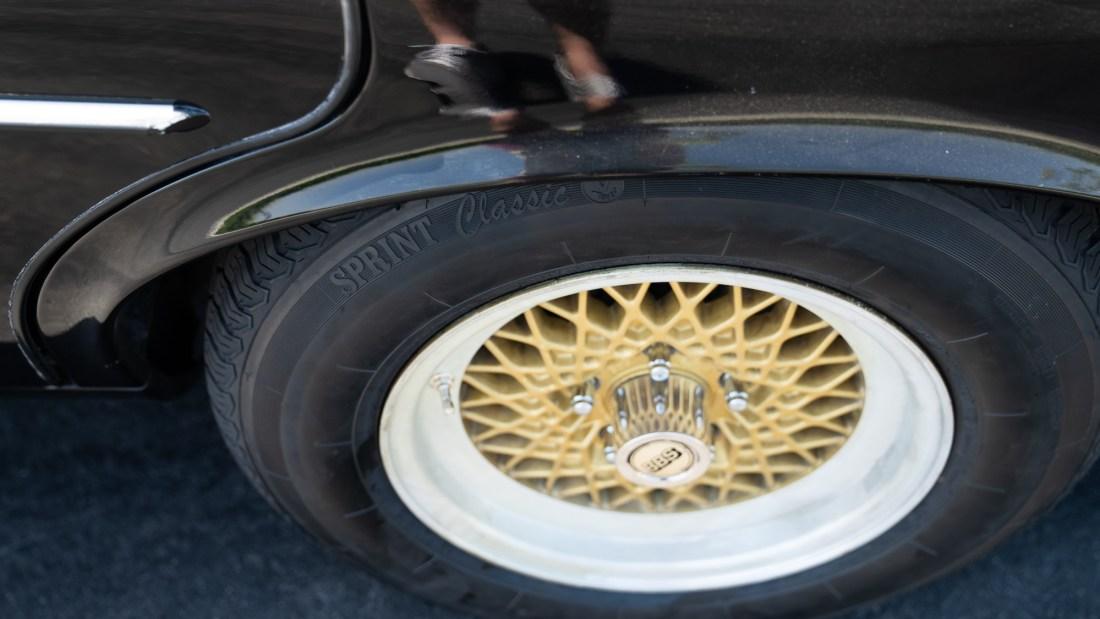 Jaguar XJ6 BBS Wheels