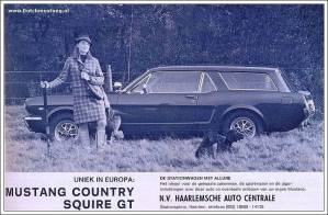 Ford Mustang wagon Dutch Country Squire GT