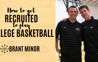 get recruited to play college basketball