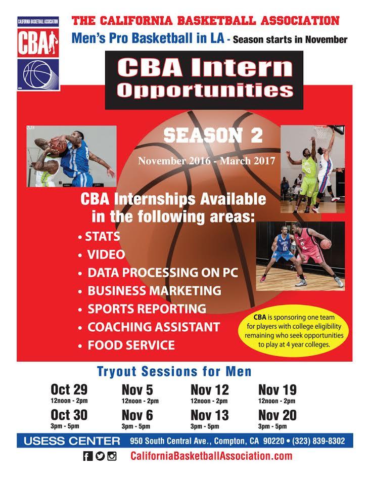 intern california basketball association hoopdirt