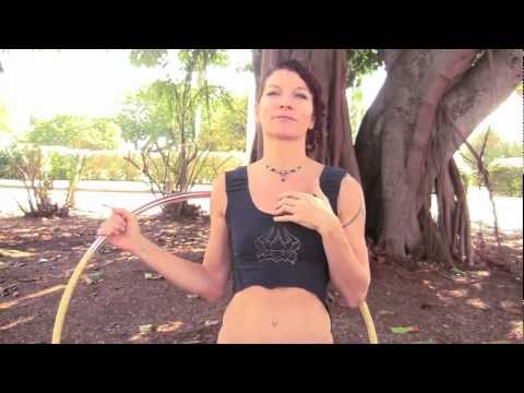 "Hula Hoop Tricks: ""Shoulder Hooping Technique"""