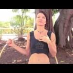 shoulder hooping hula hoop tricks