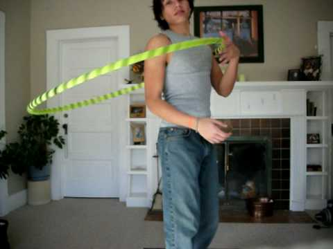 "Hula Hoop Tricks: ""Vertical Roll Overs"""