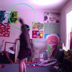 chest to back roll hula hoop tricks
