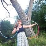 hula hoop tricks twin hoops doubles