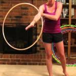 hooping cartwheel hula hoop tricks