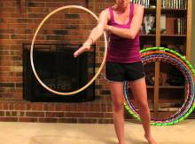 hooping cartwheel hula hoop tricks