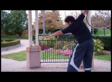 easy hula hoop tricks for beginners