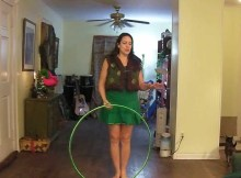 back roll hula hoop tricks how to hula hoop