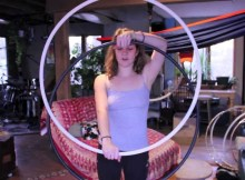 twin hula hoop tricks double hoops katie emmitt