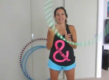 hula hoop tricks vertical pop in